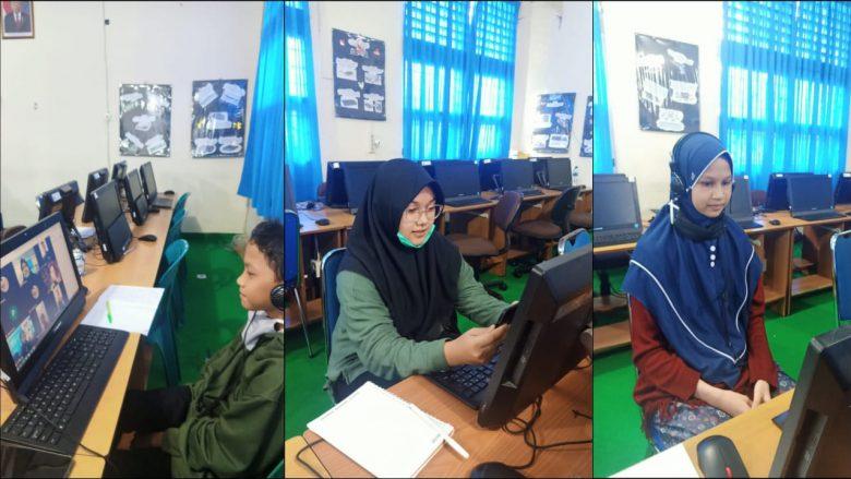 FINAL SMP CHAMPION- Perwakilan Siswa MTsN 1 Model Banda Aceh mengikuti Final SMP Champion by Ruangguru melalui virtual diruang lab.computer MTsN 1 Model Banda Aceh. SABTU(24/10/2020)